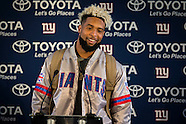 New York Giants Press Day  211016