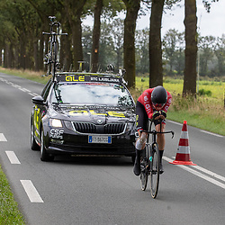 GENNEP (NED) CYCLING, SIMAC LADIES TOUR,   August 26th 2021, <br /> Suisse rider Marleb Reusser wins Timetrail