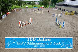 Leck - Kreisjugendturnier 05. - 06.06.2021, Springplatzübersicht