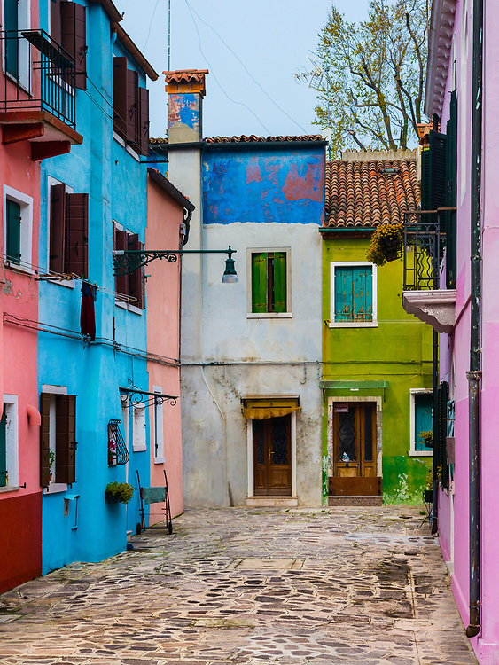 Burano, Italy. March 2015.
