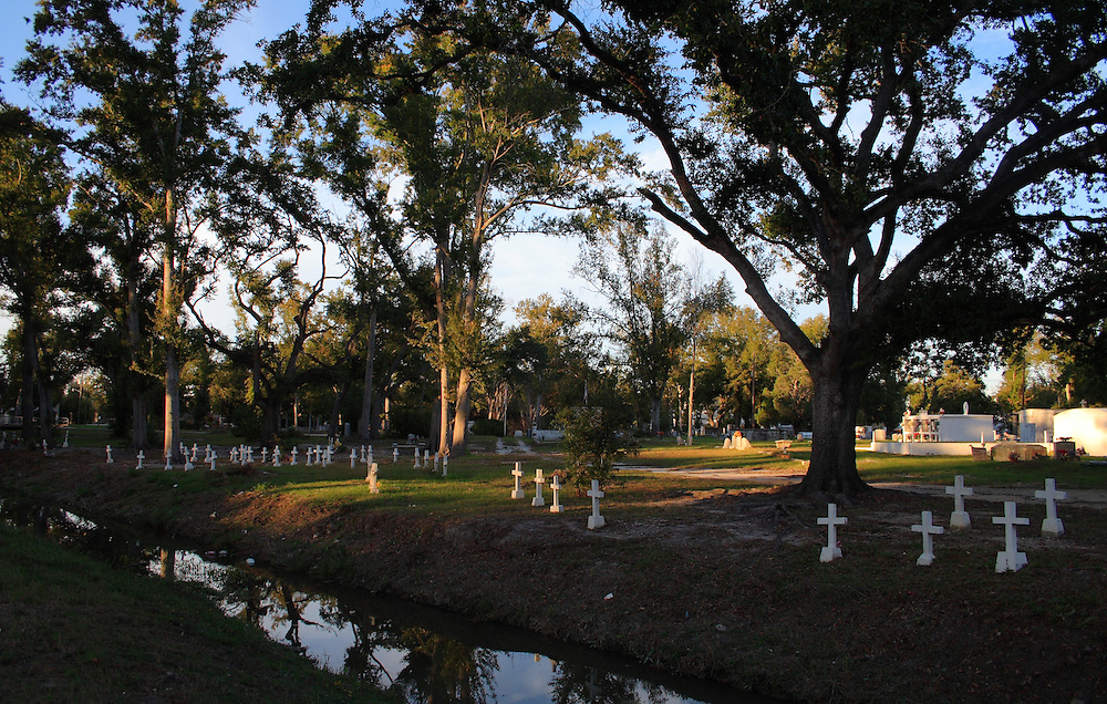 Cemetery in Old Town, Slidell, LA