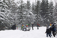 MOTORSPORT - WORLD RALLY CHAMPIONSHIP 2011 - RALLY SWEDEN / RALLYE DE SUEDE - 10 TO 13/02/2011 - KARLSTAD (SWE) - PHOTO : DPPI - <br /> 43 KEN BLOCK / ALEX GELSOMINO - FORD FIESTA RS WRC - MONSTER ENERGY WORLD RALLY TEAM - ACTION