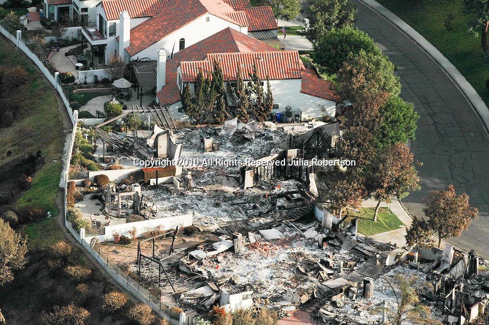 San Diego California 2007 Wildfires