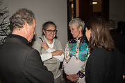 EARL OF SNOWDON; TACITA DEAN; MARIA BALSHAW; LADY SARAH CHATTO;Opening of The New Royal Academy of arts, London. 15 May 2018