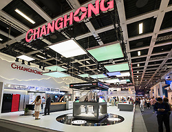 Changhong stand at 2016  IFA (Internationale Funkausstellung Berlin), Berlin, Germany