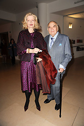 LORD & LADY WEIDENFELD at the annual Orion Publishing Group's Author party held in the Paul Hamlyn Hall, The Royal Opera House, Covent Garden, London on 22nd February 2010.