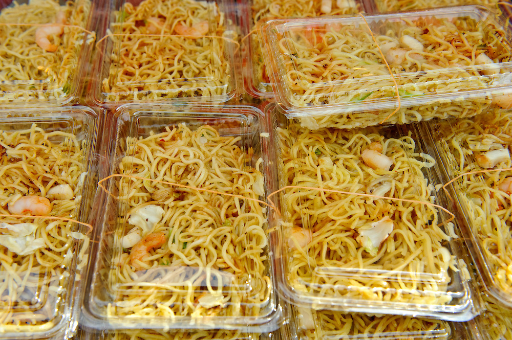"""Fried noodles, B1 Grand Prix, Yokote, Akita Pref, Japan, September 19 2009. The B1 Grand Prix is a competition for inexpensive and tasty regional dishes from around Japan. The B stands for """"b-class gourmet"""". In 2009 it was held in the northern Japan city of Yokote."""