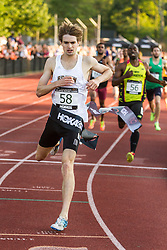 Adrian Martinez Classic track meet, Men's High Performance 800m, Ned Willig wins section 1