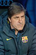 Jordi Roura at bench