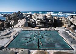 Compass Rose on beach (Credit Image: © Axiom/ZUMApress.com)