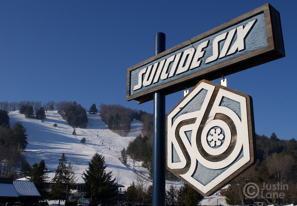 A view of the Suicide Six ski area in Woodstock, VT.<br /> JUSTIN LANE FOR THE NEW YORK TIMES