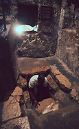 Lazuras Tomb in Bethany Israel.<br /> Photo by Dennis Brack