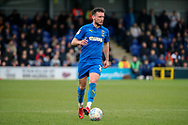 AFC Wimbledon defender Luke O'Neill (2) dribbling during the EFL Sky Bet League 1 match between AFC Wimbledon and Bolton Wanderers at the Cherry Red Records Stadium, Kingston, England on 7 March 2020.