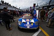 January 26-29, 2017: Rolex Daytona 24. 69 Ford Chip Ganassi Racing, Ford GT, Andy Priaulx, Harry Tincknell, Tony Kanaan