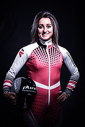 12.10.2019, Olympiahalle, Innsbruck, AUT, FIS Weltcup Ski Alpin, im Bild Chiara Mair // during Outfitting of the Ski Austria Winter Collection and the official Austrian Ski Federation 2019/ 2020 Portrait Session at the Olympiahalle in Innsbruck, Austria on 2019/10/12. EXPA Pictures © 2020, PhotoCredit: EXPA/ JFK