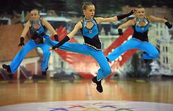 Flimero, Poland at European Cheerleading Championship 2008, on July 5, 2008, in Arena Tivoli, Ljubljana, Slovenia. (Photo by Vid Ponikvar / Sportal Images).