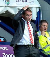 West Bromwich Albion v Liverpool  (3-0) Premier League 18/08/2012<br />New Liverpool manager Brendan Rogers as his team loses 3-0 in first Premier Match<br />Photo:Roger Parker  Fotosports International