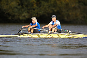 Crew: 29 - Peel / St John Bagnall - Quintin Boat Club - Op MasG/H 2x <br /> <br /> Pairs Head 2020