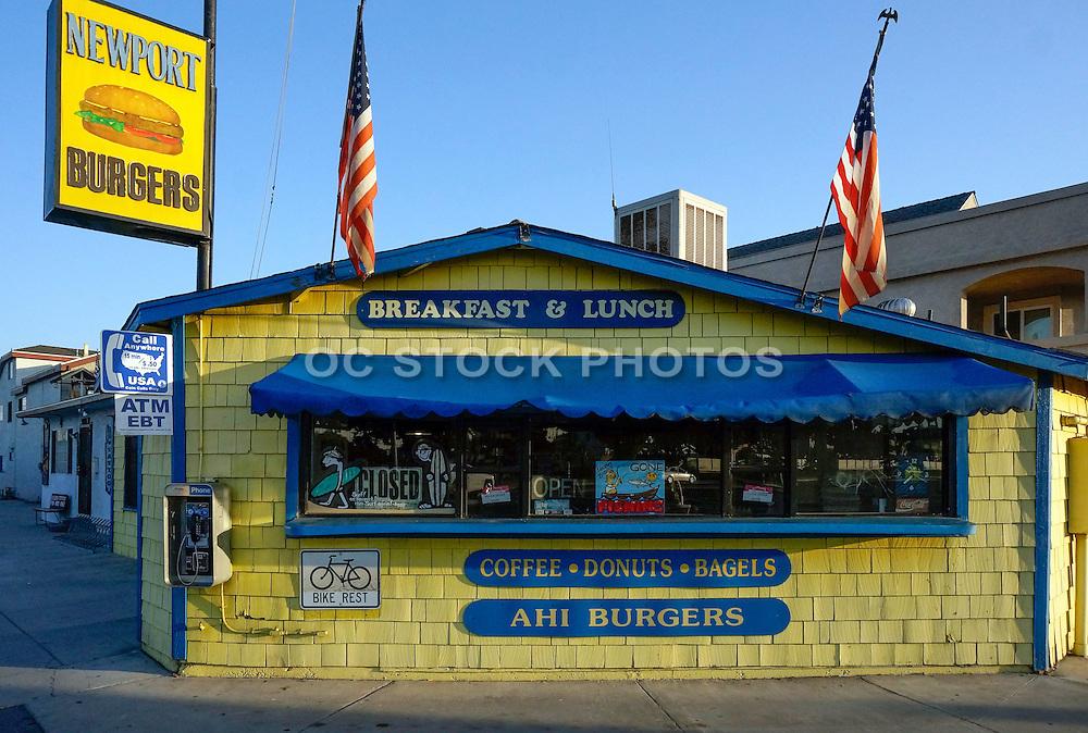 Newport Burgers Orange County California