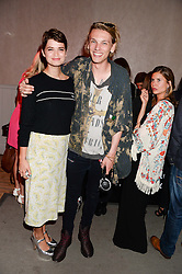 PIXIE GELDOF and JAMIE CAMPBELL BOWER at the Carrera Ignition Night at The House of St.Barnabas, Soho, London on 20th June 2013.