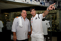 20120210: SAO PAULO, BRAZIL - Jorge Ciro Fucile presented as new Santos player in Sao Paulo, Brasil.<br /> PHOTO: CITYFILES