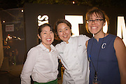 TBA:Eats Blind Tasting Bingo, Chef Naoko at The WORKS<br /> 09/12/12 at Washington High School<br /> 2012 Time-Based Art Festival, PICA<br /> Photo by Shawn Linehan <br /> Courtesy of Portland Institute for Contemporary Art.