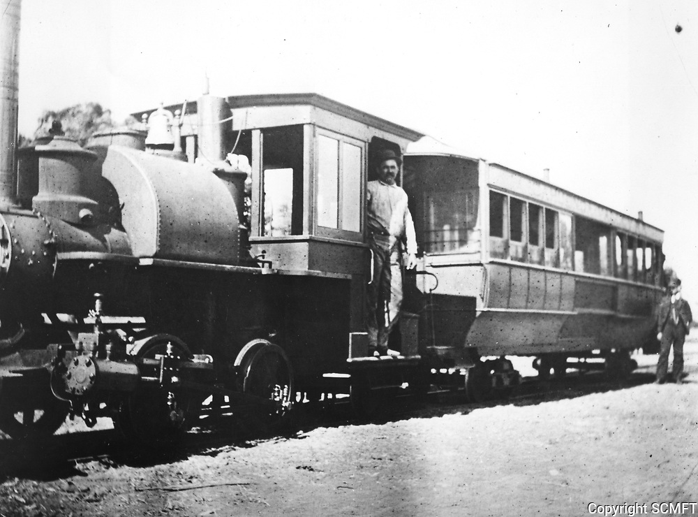 1894 Cahuenga Valley Railroad in Hollywood