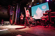 The music band Clean Bandit performs at the  Arena  Club in Madrid, Spain