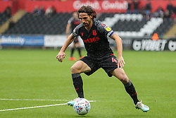 Joe Allen of Stoke City - Andrew Lewis/JMP - 05/10/2019 - FOOTBALL - Liberty Stadium - Swansea, England - Swansea City v Stoke City - Sky Bet Championship