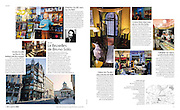 Published spread in LE Monde Magazine with a story on Brussels seen through the eyes of Bruno Solo. 25 february 2014