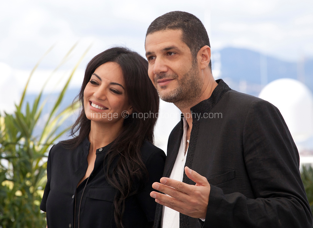 Director Maryam Touzani and producer Nabil Ayouch at the Adam film photo call at the 72nd Cannes Film Festival, Monday 20th May 2019, Cannes, France. Photo credit: Doreen Kennedy