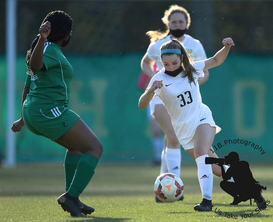 12 April 2021: Pinecrest High School Women's JV Soccer versus Richmond.
