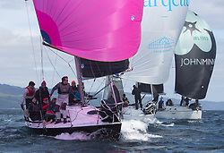 Clyde Cruising Club's Scottish Series 2019<br /> 24th-27th May, Tarbert, Loch Fyne, Scotland<br /> <br /> Day 1 - Perfect conditions to start the 45th Series.<br /> <br /> IRL1484, Harmony, John Swan, Howth Yacht Club, Half Tonner<br /> <br /> Credit: Marc Turner / CCC