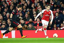 Henrikh Mkhitaryan of Arsenal - Mandatory by-line: Robbie Stephenson/JMP - 15/03/2018 - FOOTBALL - Emirates Stadium - London, England - Arsenal v AC Milan - UEFA Europa League Round of 16, Second leg