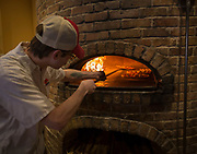 Pizza Brutta for travel story on Madison. (Photo © Andy Manis)