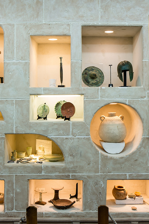 Ancient artifacts on display at The Museu of the Living Torah.