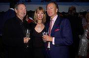 Nick and Annette  Mason and Count Christophe gollut. Cartier dinner after thecharity preview of the Chelsea Flower show. Chelsea Physic Garden. 23 May 2005. ONE TIME USE ONLY - DO NOT ARCHIVE  © Copyright Photograph by Dafydd Jones 66 Stockwell Park Rd. London SW9 0DA Tel 020 7733 0108 www.dafjones.com