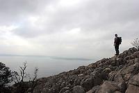 fottur på Losinj, trekking