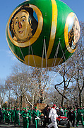 NEW YORK, NY, USA, Nov. 28, 2013. A new balloon celebrating the Wizard of Oz joined the 87th Annual Macy's Thanksgiving Day Parade.
