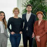 NLD/Amsterdam/20180323 - Perspresentatie cast De Matchmaker, Cast