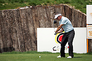 Paul McGinley tees off on the 16th hole in the Open de Espana in Madrid..Photo NEWSFILE/Manus O'Reilly.(Photo credit should read Manus O'Reilly/NEWSFILE)...This Picture has been sent you under the condtions enclosed by:.Newsfile Ltd..The Studio,.Millmount Abbey,.Drogheda,.Co Meath..Ireland..Tel: +353(0)41-9871240.Fax: +353(0)41-9871260.GSM: +353(0)86-2500958.email: pictures@newsfile.ie.www.newsfile.ie.FTP: 193.120.102.198..