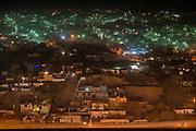 A view of Juarez taken from University of Texas , El Paso.