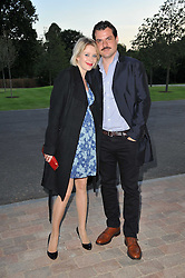 Actor DAN PIRRIE and TICKY HEDLEY-DENT at the opening party of the London Syon Park - A Waldorf Astoria Hotel, Syon Park, Middlesex on 19th May 2011.