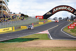 October 7, 2018 - Bathurst, NSW, U.S. - BATHURST, NSW - OCTOBER 07: Scott Pye / Warren Luff in the Mobil 1 Boost Mobile Racing Holden Commodore heads towards the final turn at the Supercheap Auto Bathurst 1000 V8 Supercar Race at Mount Panorama Circuit in Bathurst, Australia on October 07, 2018 (Photo by Speed Media/Icon Sportswire) (Credit Image: © Speed Media/Icon SMI via ZUMA Press)