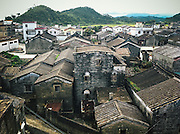 Villages in China are thousands of years old, originally made of wood, then stone and now other Western materials if it can be afforded.  Despite expansive vistas, Toisan villages tend to cluster, producing narrow alley ways with the sounds of neighbors never too far off.