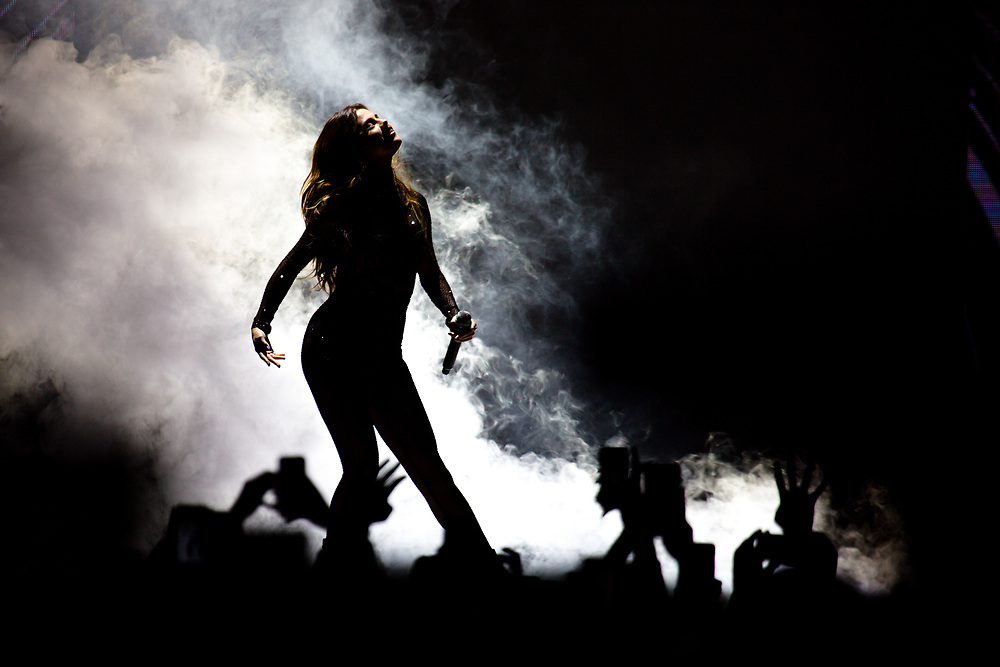 June 18, 2016: Selena Gomez performs at the American Airlines Center for her Revival Tour in Dallas, TX