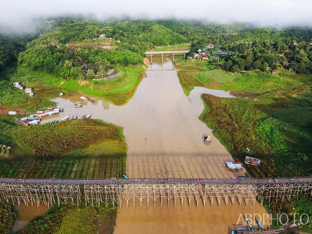 DCIM\102MEDIA\DJI_0424.JPG Sangkhlaburi, Kanchanaburi, Thailand
