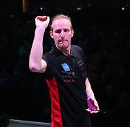 Chris Landman during the BDO World Professional Championships at the O2 Arena, London, United Kingdom on 4 January 2020.