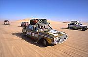 Cruising through the Sahara in Mauritania