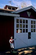 Seabiscuit Barn, Ridgewood Ranch, near Willits, Mendocino County, California
